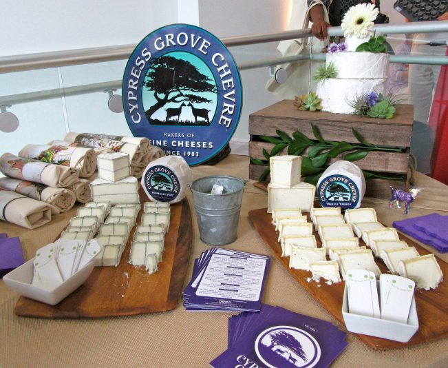 Cypress Grove Cheese Display