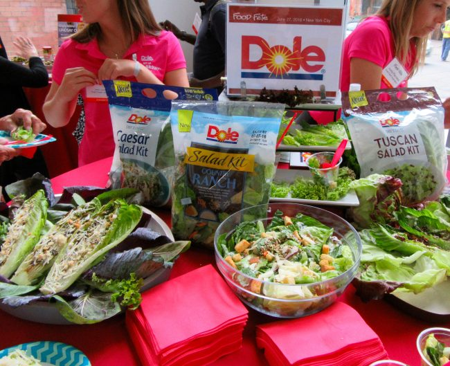 Dole Booth Display