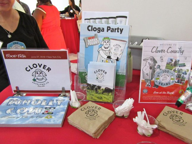 Clover Dairy Display