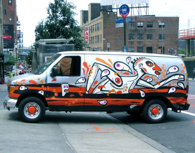 Urbanimal Graffiti Van