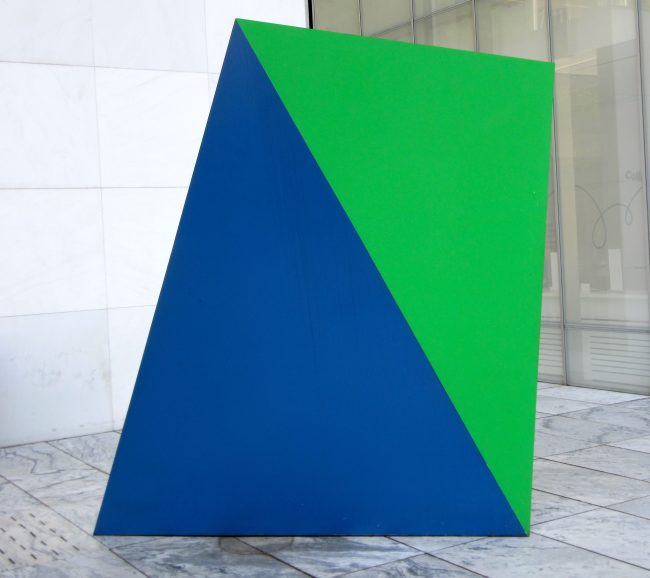 Ellsworth Kelly Green Blue