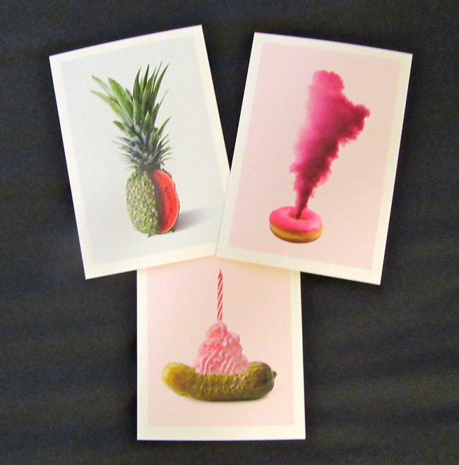 Food Art Cards By Alex Proba