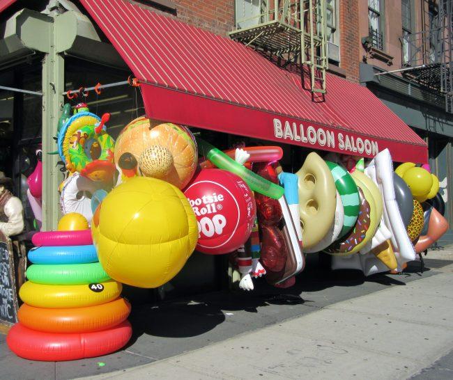 Balloon Saloon Exterior
