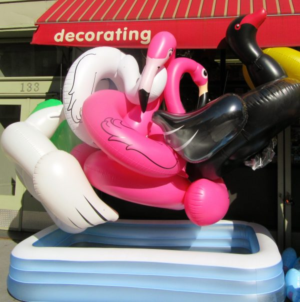 Balloon Saloon Flamingo
