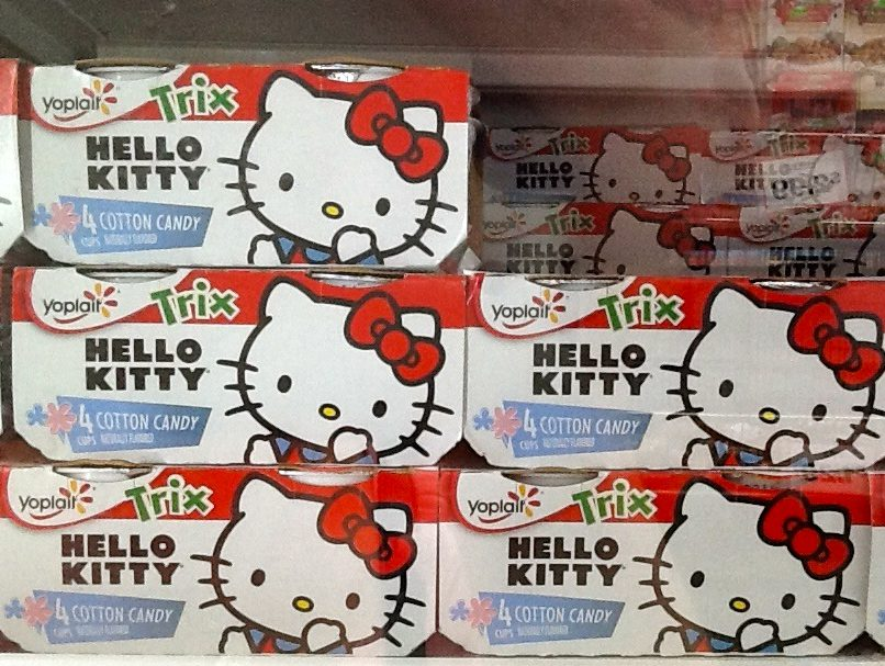 b95900681 Yes, It Exists: Hello Kitty Cotton Candy Flavored Yogurt | The ...