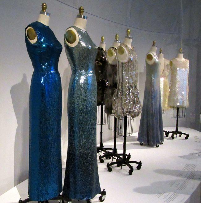 Shimmering Dresses