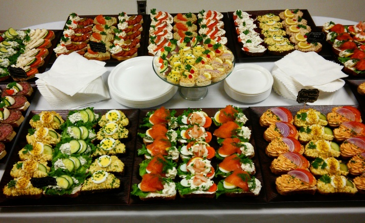 Party Catering Set Up