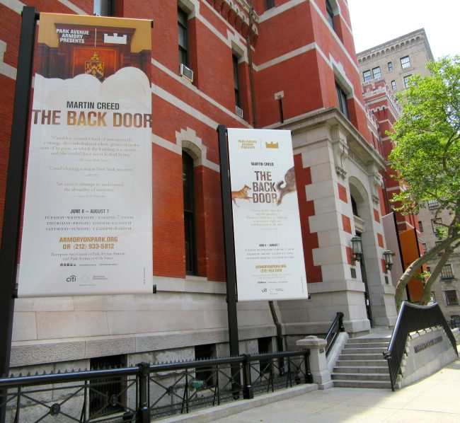 Park Ave Armory Exterior and Signage