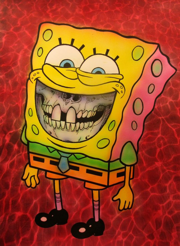 Spongebob Grin by Ron English