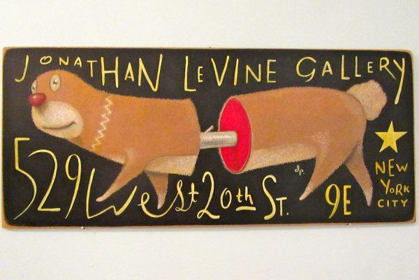 Jonathan LeVine Signage