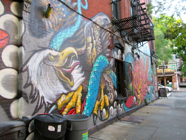 Eagle on Mural