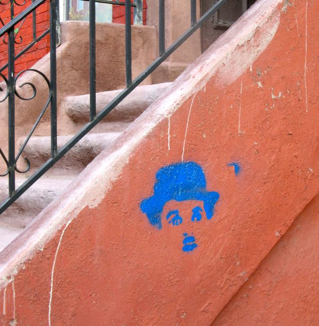 Charlie Chaplin Stencil