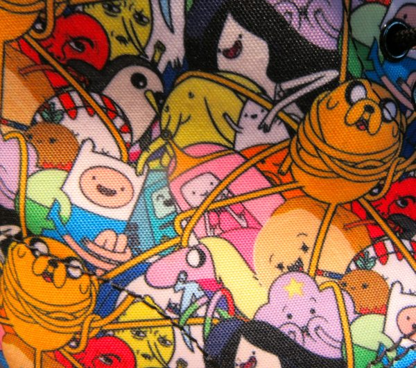 Adventure Time Doc Martens Detail
