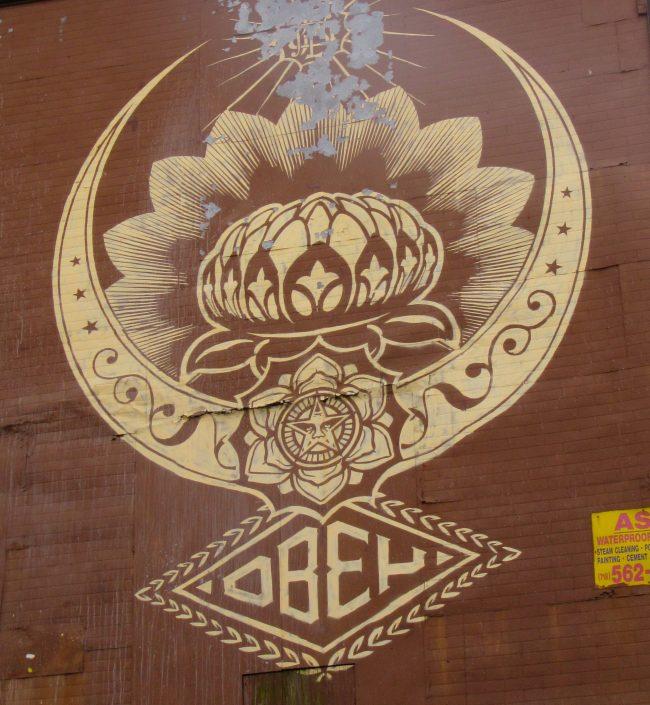 Shepard Fairey Obey Lotus