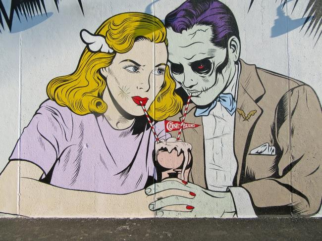 Art Wall By D-Face