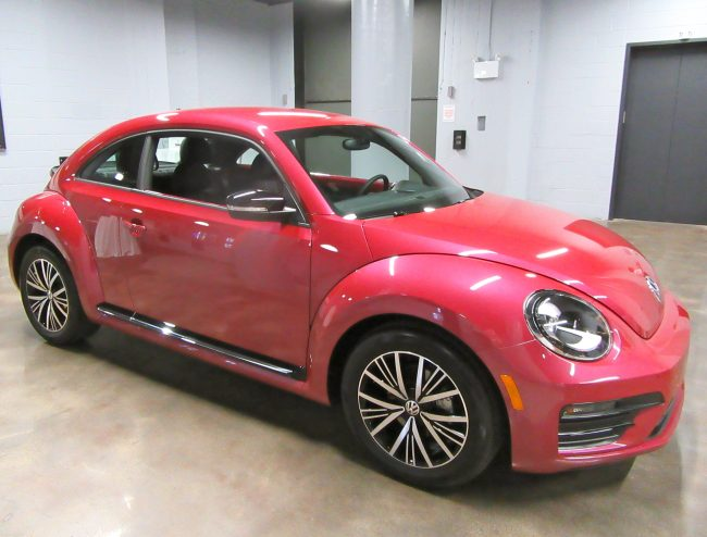 #PinkBeetle Front Right