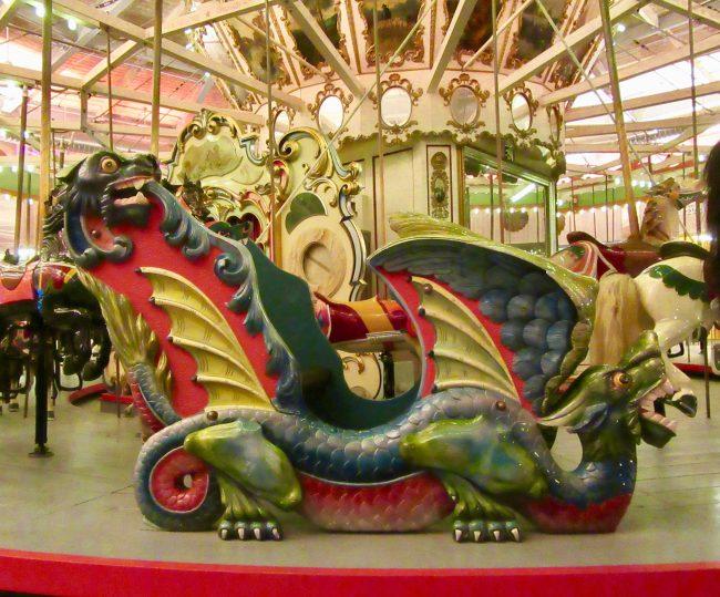 Carousel Seat