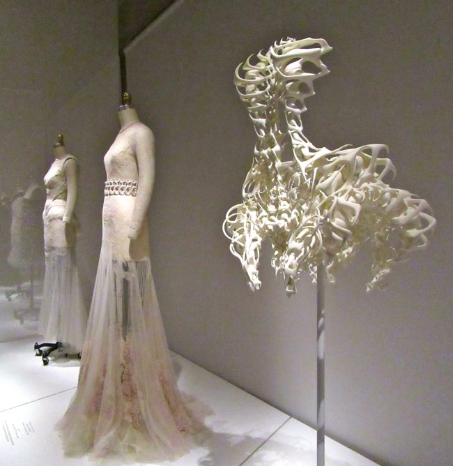 Bone Dress Installation View