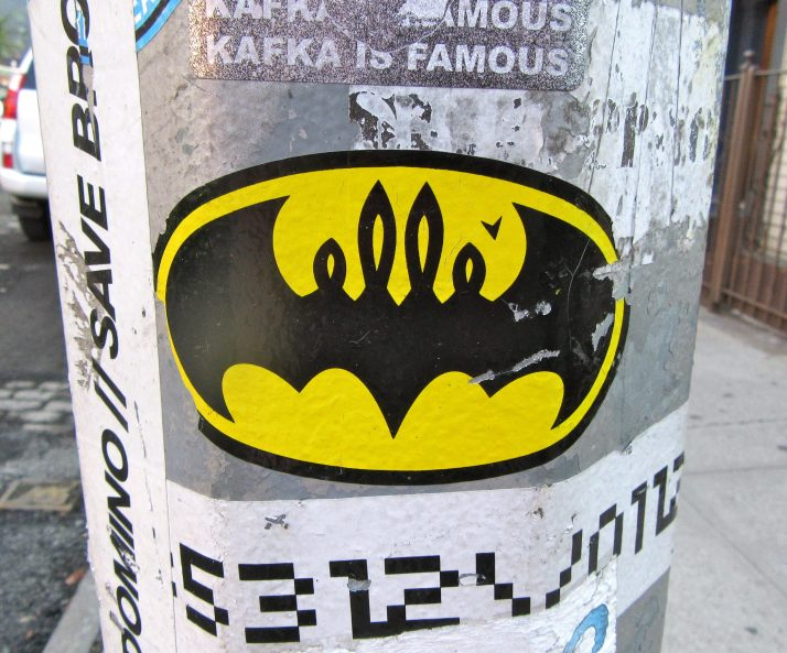 Bat Man Sticker by Elle