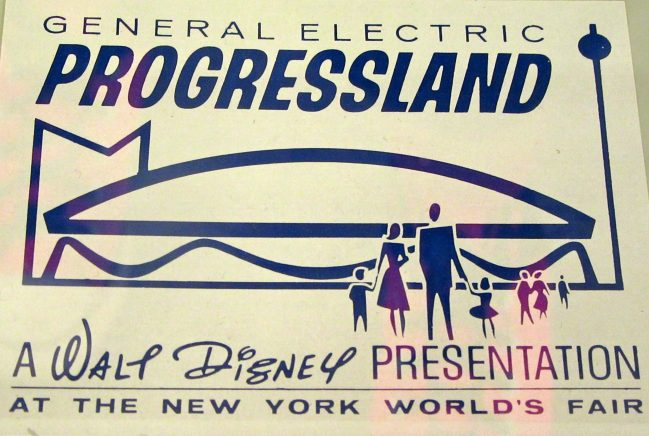 Progressland By Walt Disney