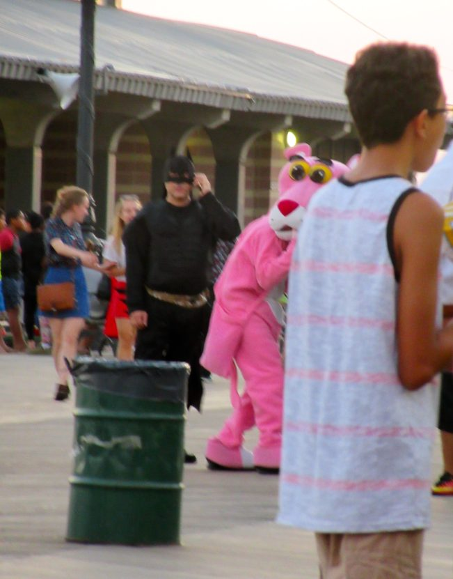 Pink Panther on the Boardwalk