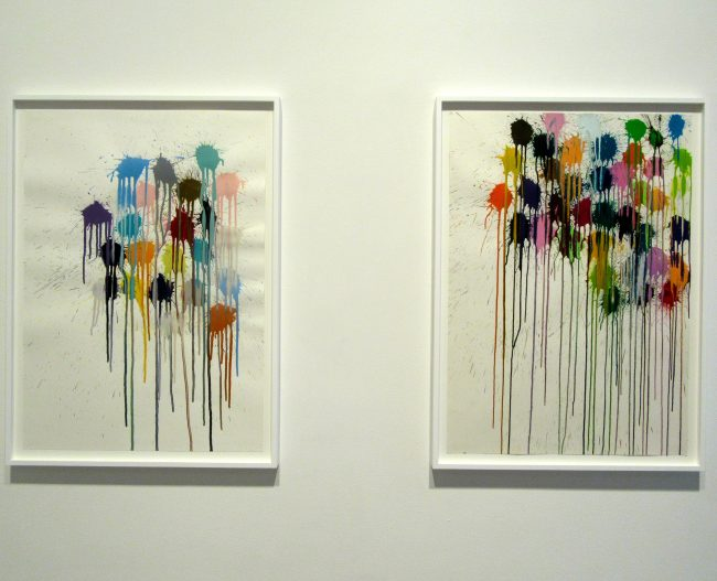 Splat Paintings