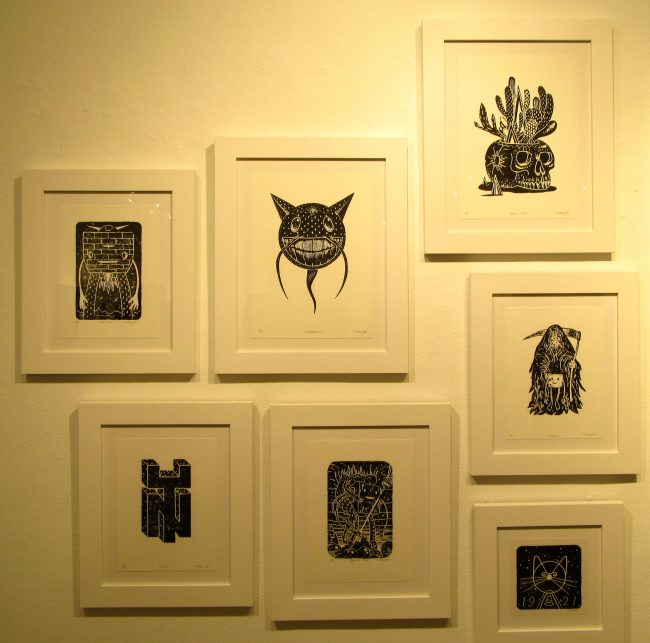 Jeff Soto Installation View