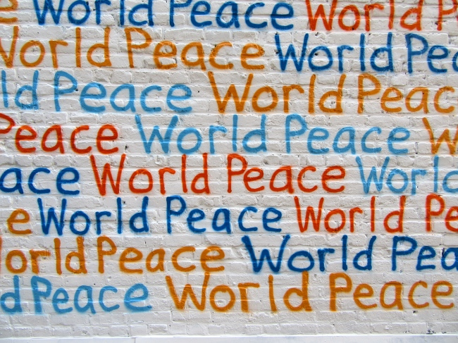 Renda Writer World Peace Mural