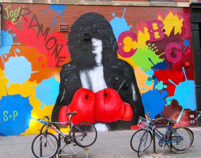 Joey Ramone Mural