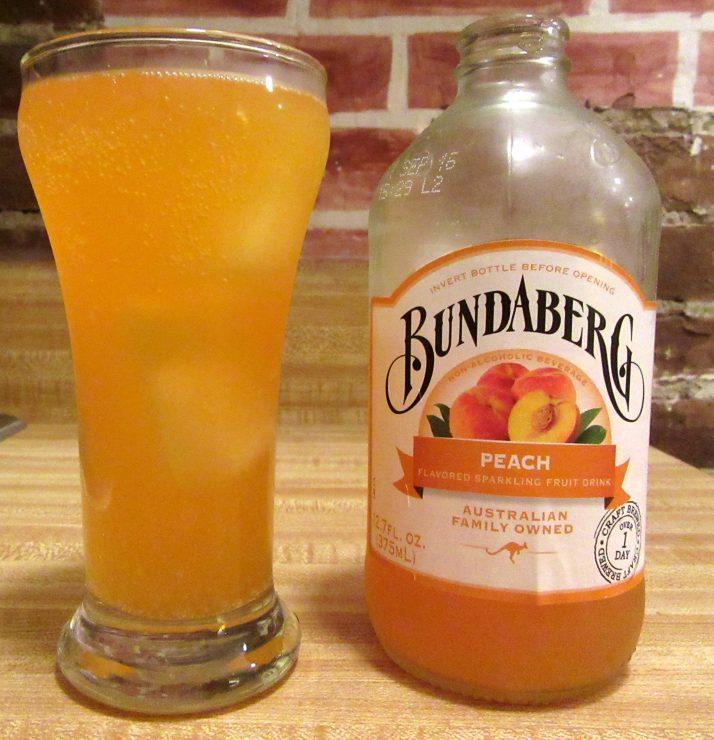 Bundaberg Sparkling Peach