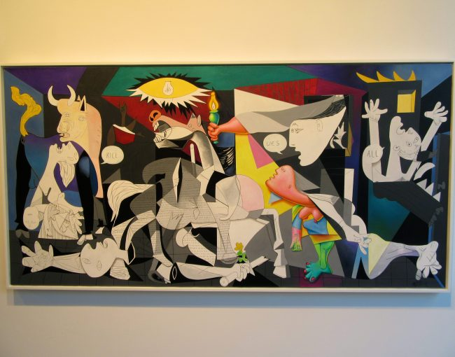 Kill All Lies Guernica