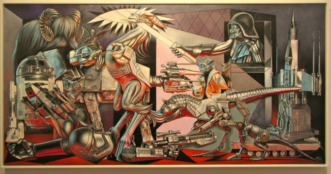 Star Wars Guernica