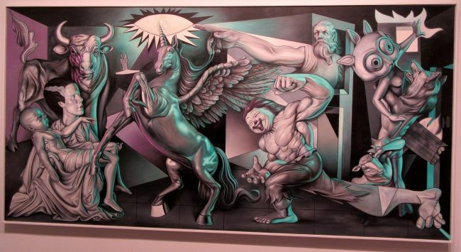 Mythological Guernica