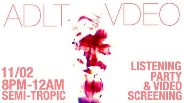 ADLT VDEO Flyer