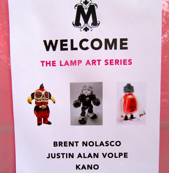 Art Lamp Event Signage