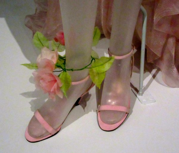 Wedding Ensemble Shoes and Anklet