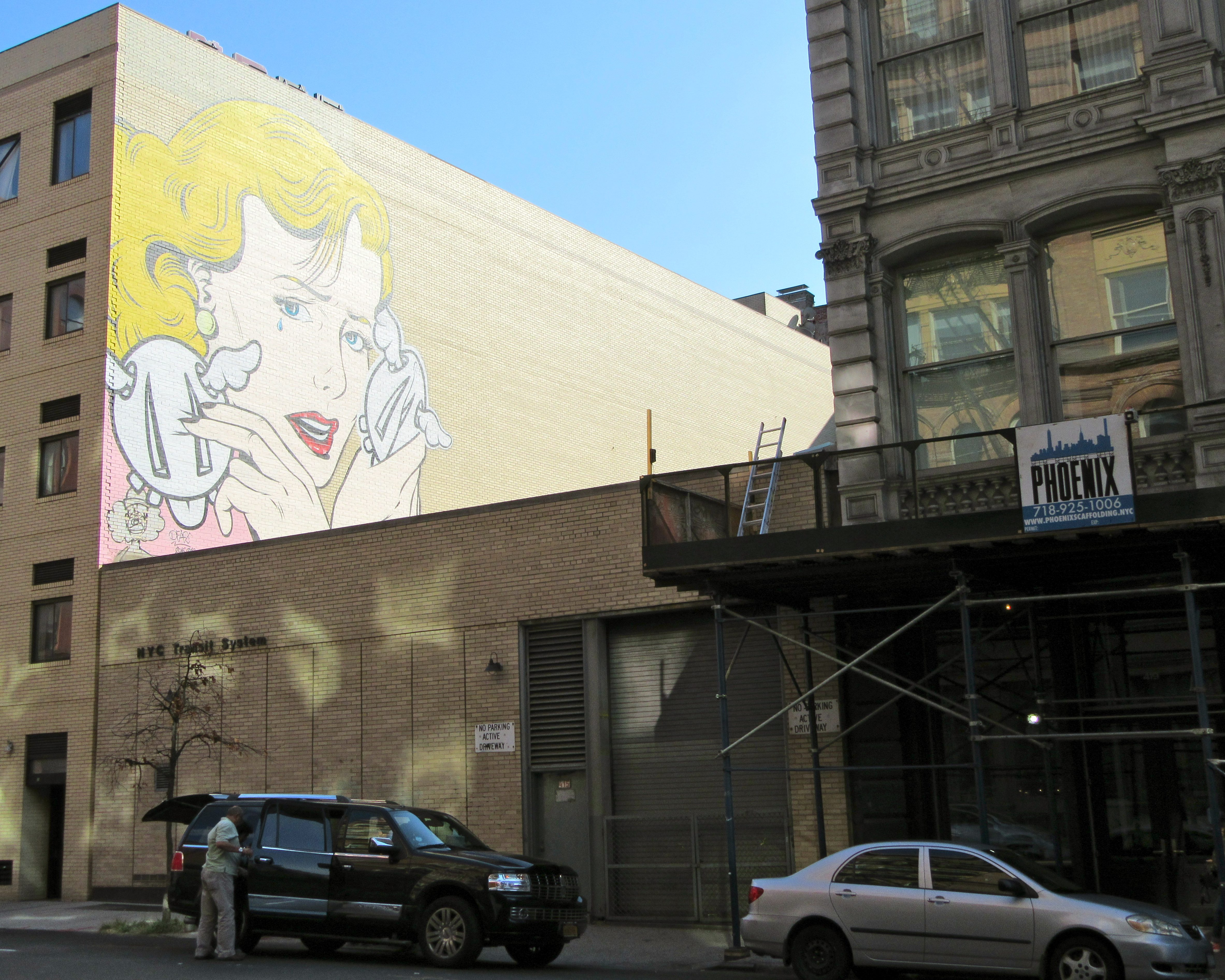 Nyc the worley gig for Mural on broome street