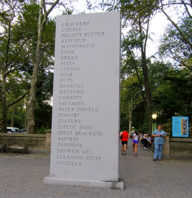 David Shrigley Memorial