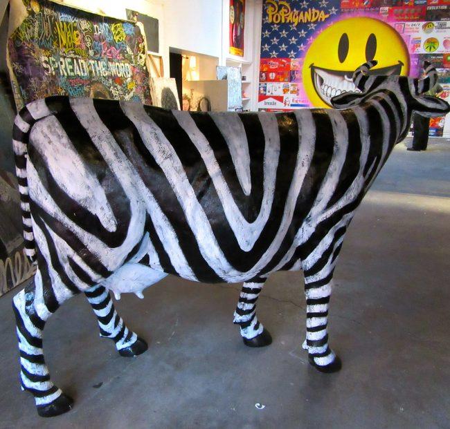 Zebra Cow