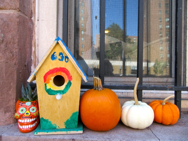 Halloween Ledge Display