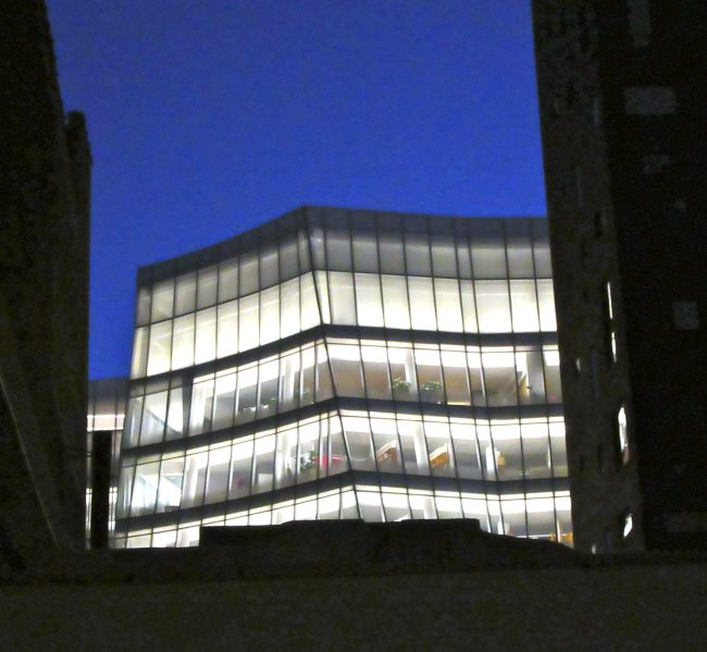 IAC Building at Night