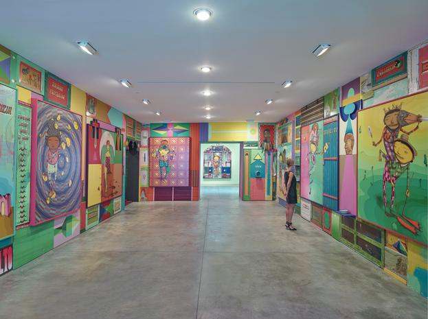 Os Gemeos Installation View