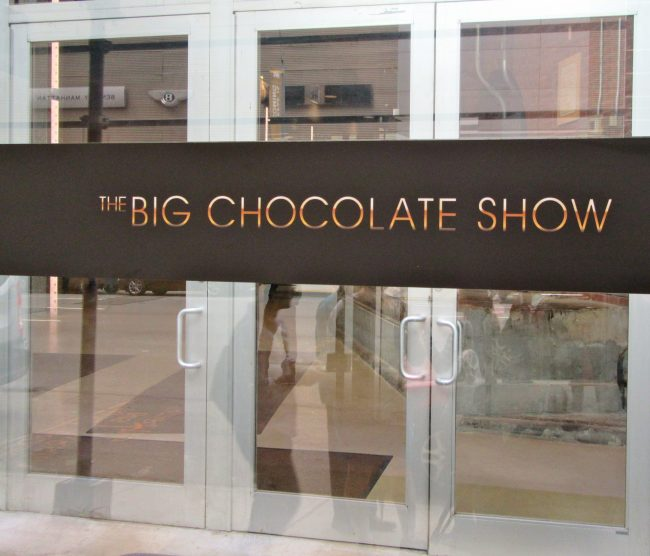 The Big Chocolae Show Signage