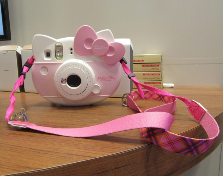 Pink Hello Kitty Camera