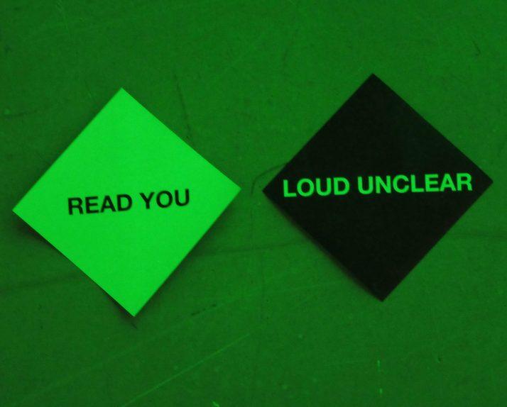 Read You Loud Unclear