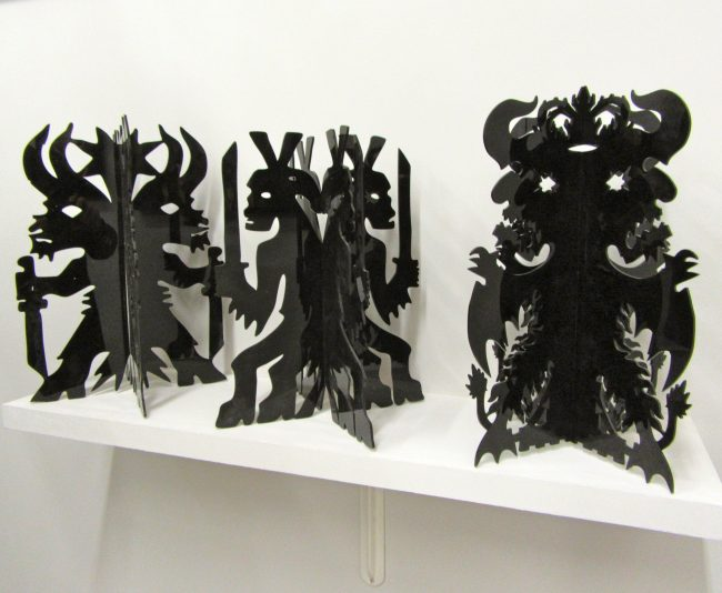 Black Sculptures