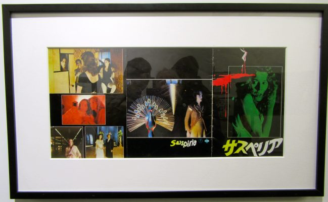 Japanese Movie Program For Suspiria By Dario Argento 1977