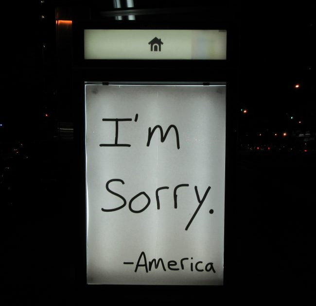 Im Sorry America