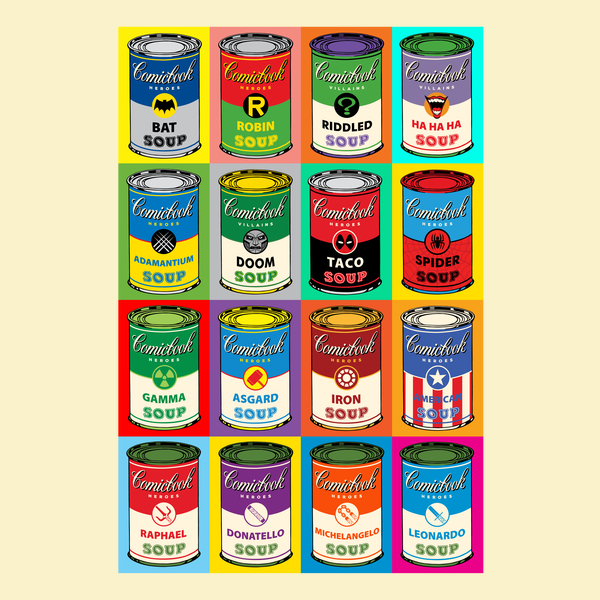 comic-book-soup-cans