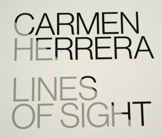 Lines of Sight Signage